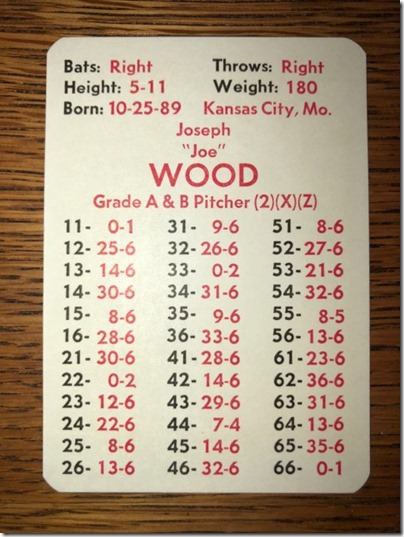joe wood original WS